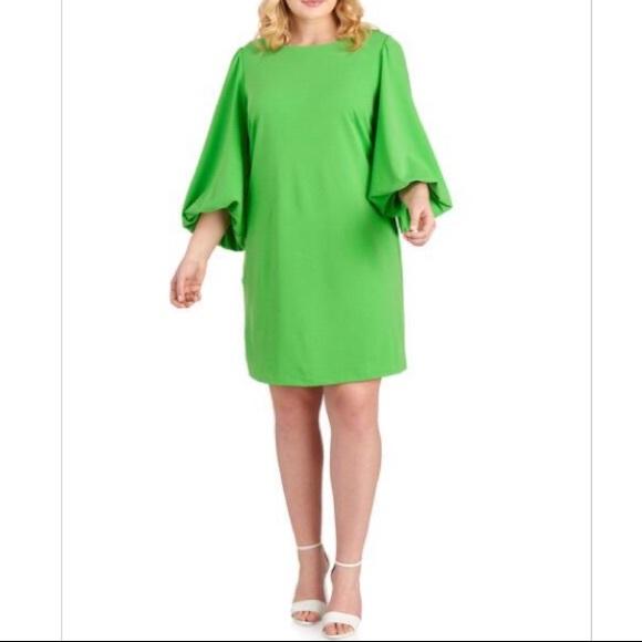 CHEZTU Women\'s Plus Size Bubble Sleeve Dress 22 NWT